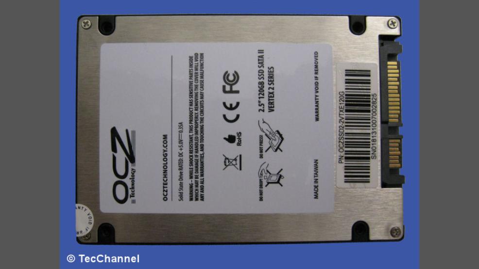 Solid State Disk mit Top-Performance: Test - OCZ Vertex 2 SSD