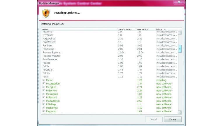 Hilfsdienst: Das Windows System Control Center ist ein leistungsfähiges Programmpaket für Administratoren und versierte Windows-Nutzer.