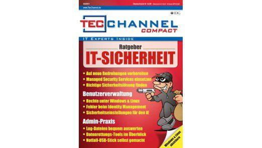 TecChannel Compact 03/2011: Über 160 Seiten Praxisbeiträge und Grundlagen zum Thema IT-Sicherheit.