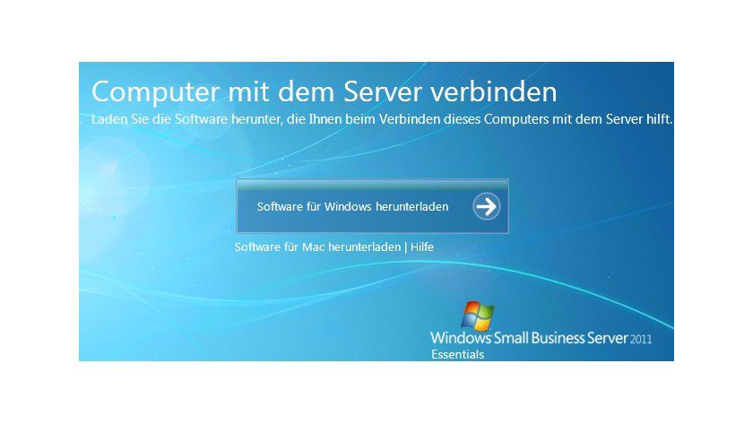 Kontaktaufnahme: Für die Anbindung des Clients müssen Sie zunächst Software herunterladen.