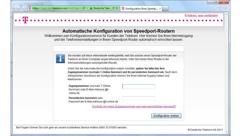 Tipp Für Telekom Speedport Router Browser Start Mit Speedport
