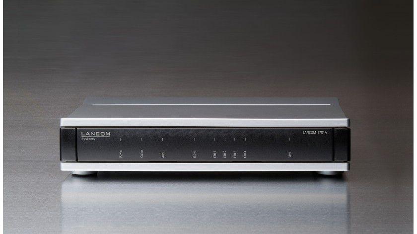 Zuwachs bei Lancom: Der neue Router 1781A verwaltet bis zu 16 virtuelle Netzwerke.