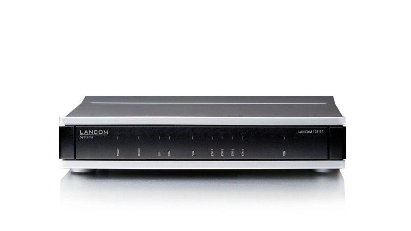 Sparsamkeit: Die lüfterlose Lancom-Serie 1781 bietet über einen neuen Green-Gigabit-Ethernet-Switch Stromsparfunktionen nach 802.3az für energieeffiziente Netzwerke.