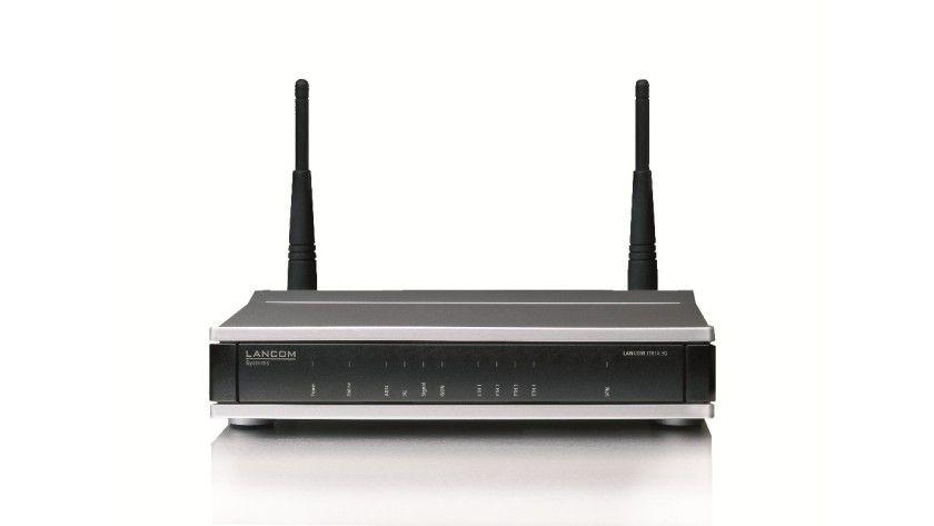 Mobilfunker: Der Lancom 1781A-3G besitzt ein internes UMTS/HSPA+-Modem.