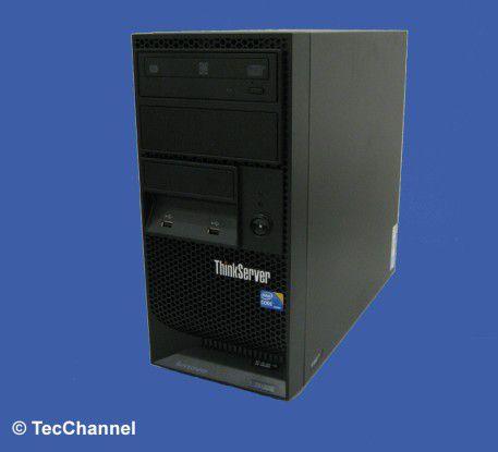 Tower-System: Das System Lenovo ThinkServer TS130 ist auf Energieeffizienz ausgerichtet.