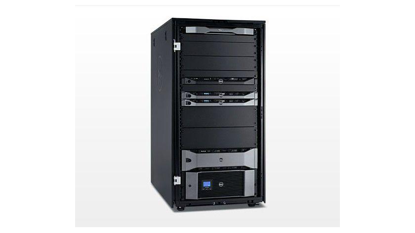 Multitalent: Das vStart-50v-System beinhaltet eine komplette IT-Infrastruktur.