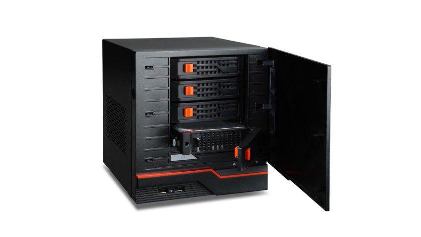 """Winzling: Der kleine Server AC100 soll alle wesentlichen Funktionen eines """"normalen"""" Servers besitzen."""