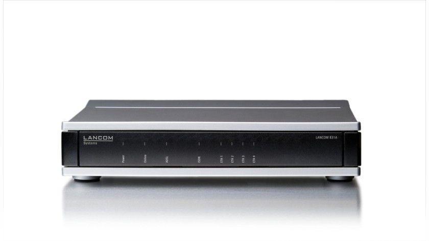 Lancom 831A: Den Router hat Lancom für kleine Unternehmen konzipiert.