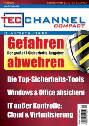 """TecChannel Compact 01/2012: 160 Seiten Praxisbeiträge und Grundlagen rund um das Thema """"IT-Sicherheit""""."""