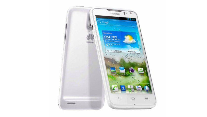 Huawei Ascend D quad: Das Smartphone mit 4,5-Zoll-Display verwendet den Quad-Core-Prozessor K3V2.