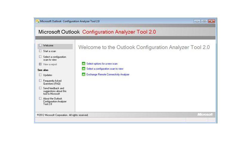 OCAT 2.0: Wenn es bei Outlook-Installationen klemmt, kann das Microsoft Outlook Configuration Analyzer Tool hilfreiche Dienste leisten - jetzt in der Version 2.0.