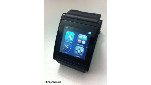 Die i'm watch gibt es schon lang zu kaufen und ist Apple weit voraus.