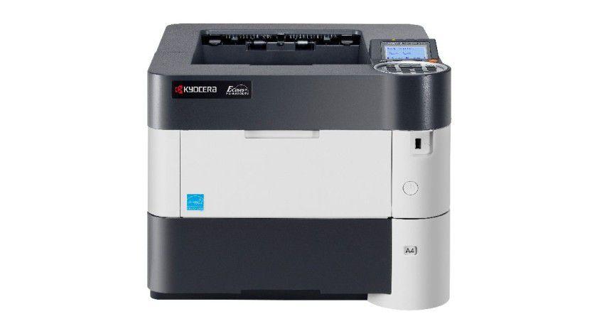 Kyocera FS-4300DN: Das Gerät druckt nominell bis zu 60 Seiten pro Minute. Alle neuen Modelle besitzen eine Duplex-Einheit und lassen sich auf bis zu sechs Papierzuführungen erweitern.