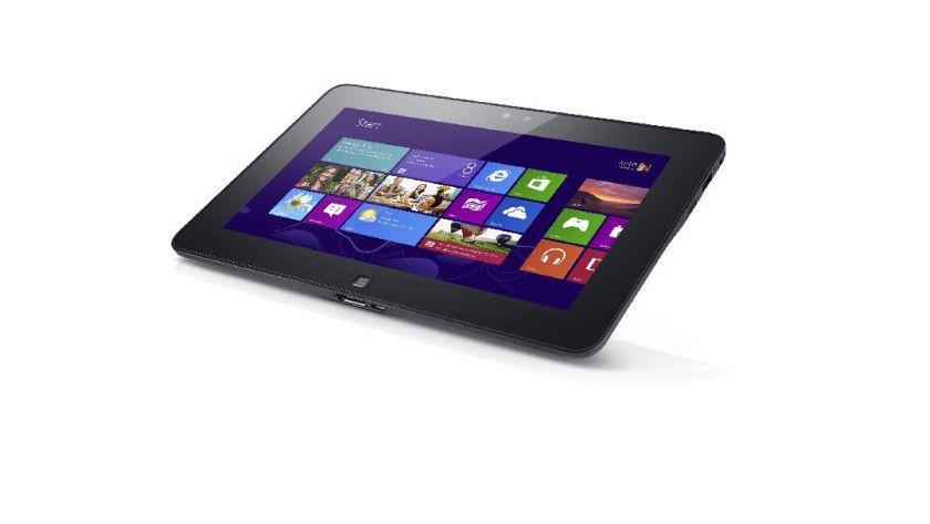 Dell Latitude 10: Bei Dells Business-Tablet lässt sich der Akku einfach entnehmen.