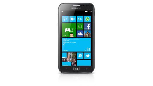 Windows-Smartphone: Das Samsung Ativ S kommt mit Windows Phone 8.