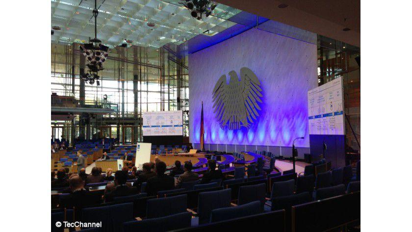 NetApp-Konferenz: Im alten Bundestag informierte NetApp am 20. November seine Partner über die Studienergebnisse sowie neue Technologien und Trends.