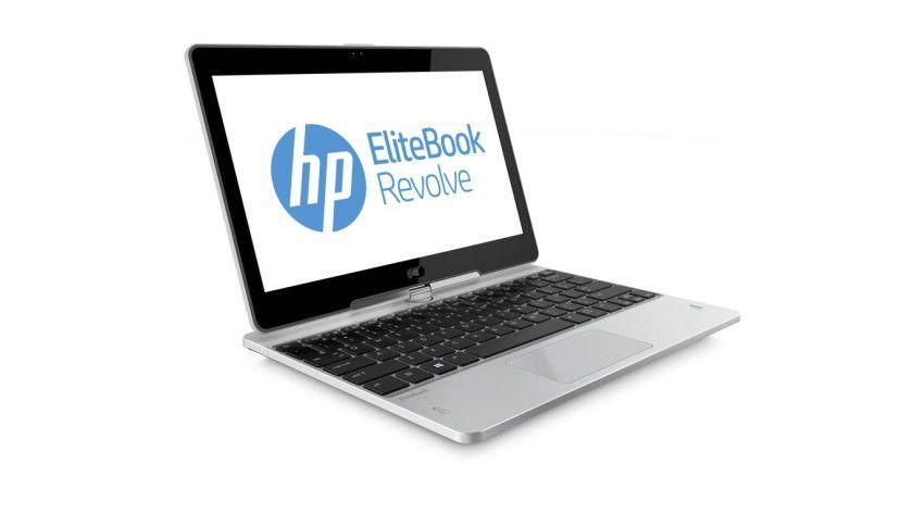 HP Elitebook Revolve: Das Convertible-Notebook bringt ein touchfähiges 11,6-Zoll-Display mit.