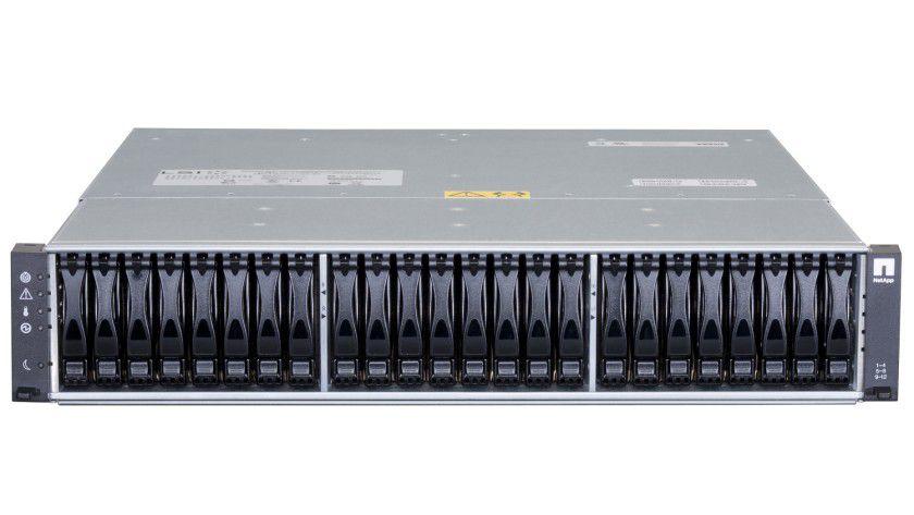 NetApp EF540: Das neue Speichersystem setzt auf eine reine SSD-Bestückung. Damit sollen über 300.000 IOPS möglich sein.