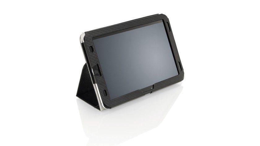 Fujitsu Stylistic M702: Das Tablet arbeitet mit Android 4.0 Ice Cream Sandwich. Beim Einsatz im Unternehmen kann der auf dem Gerät vorbereitete Zugriff auf die Virtual Desktop Infrastructure (VDI) zum Einsatz kommen.