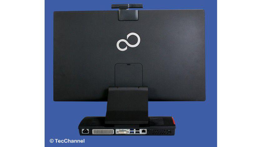 Innenleben: Der Platz für Erweiterungen ist beim Fujitsu Esprimo X913-T sehr begrenz beziehungsweise nicht vorhanden.