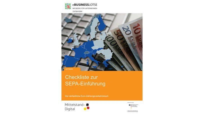 Der Countdown läuft: Die Checkliste zur SEPA-Einführung soll Firmen unterstützen.
