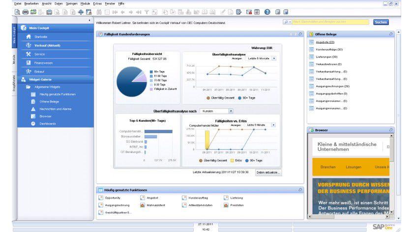 Platzhirsch: SAP ist weltweit Marktführer bei CRM-Software.