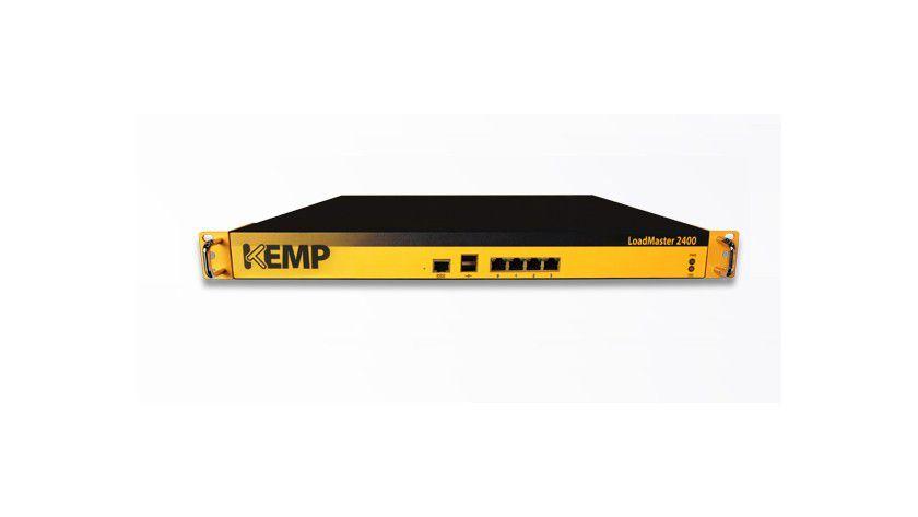 Einsteiger, Den Load Blancer LoadMaster LM-2400 hat Kemp für kleine und mittelständische Unternehmen konzipiert.