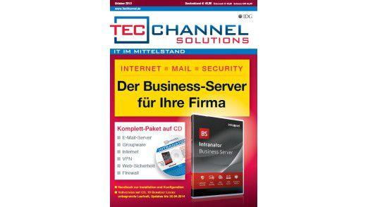 Vollversion auf CD: Mit der Software lässt sich die sichere Kommunikation in kleinen Unternehmen realisieren.