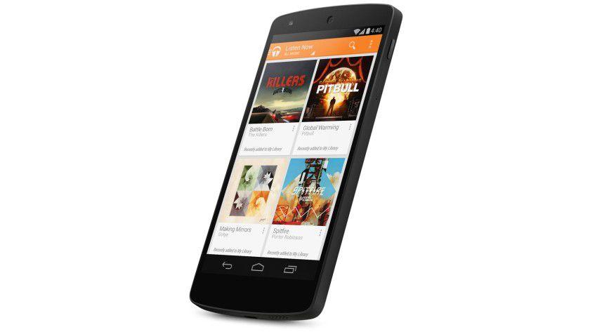Google Nexus 5: Das Smartphone kommt mit Android 4.4.