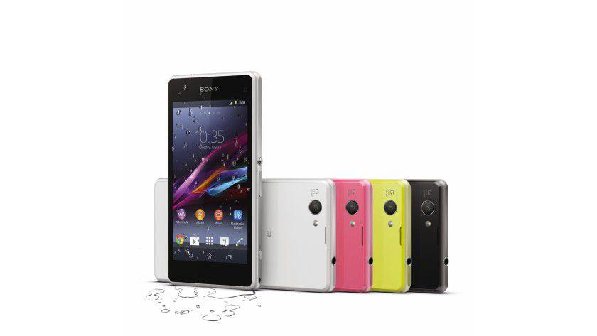 Sony Xperia Z1 Compact: Das kompakte Smartphone besitzt eine 4,3-Zoll-Bildschirm.