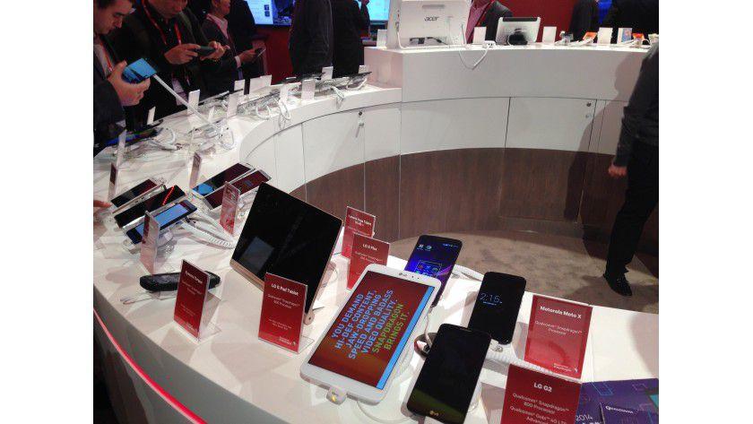 Verbreitet: Qualcomms Snapdragon-Prozessoren sind in sehr vielen Smartphones und Tablets verbaut.