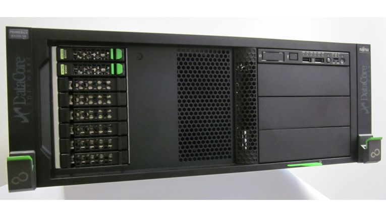 SVA: Die Appliance bündelt in einem zugeschnittenen Paket einen Primergy-Server und SANsymphony.