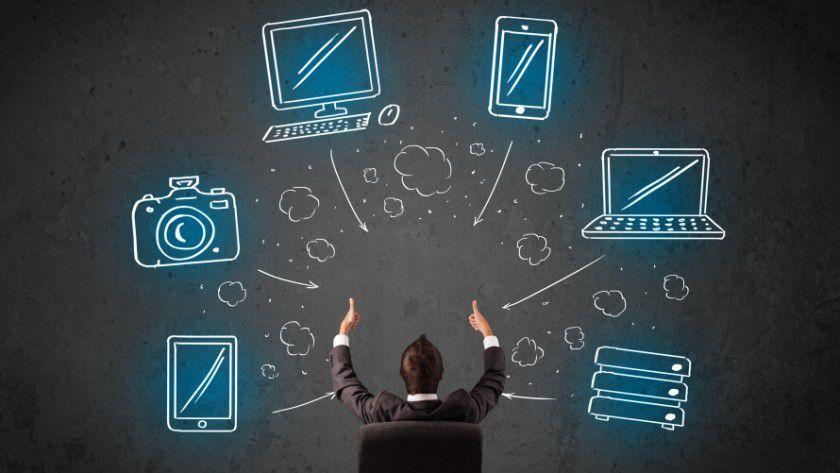 IT-Strategie: Die mobile Gerätewelt in den Griff zu bekommen, ist heute eine zentrale Aufgabe der Unternehmen.