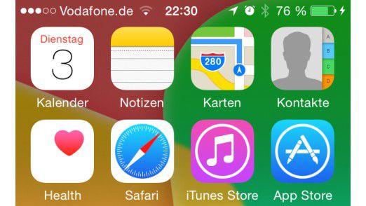 Apple iOS 8: Mehr als nur schön bunt.