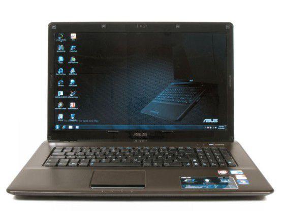 17-Zoll-Notebook mit Core i3 im Test: Asus X72JR