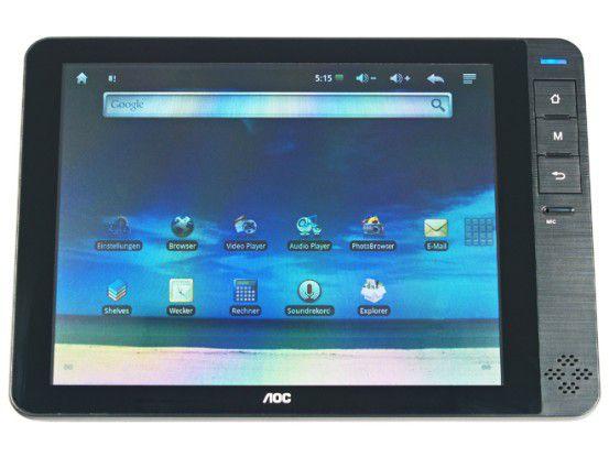 Extrem günstiger Tablet-PC im Test: AOC Breeze für 180 Euro