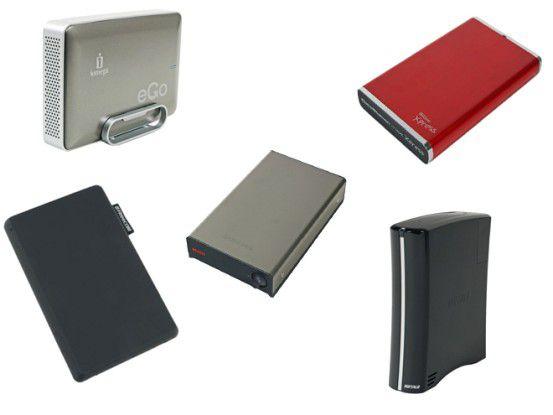 USB-3.0-Festplatten mit 1 TB und 2 TB im Test
