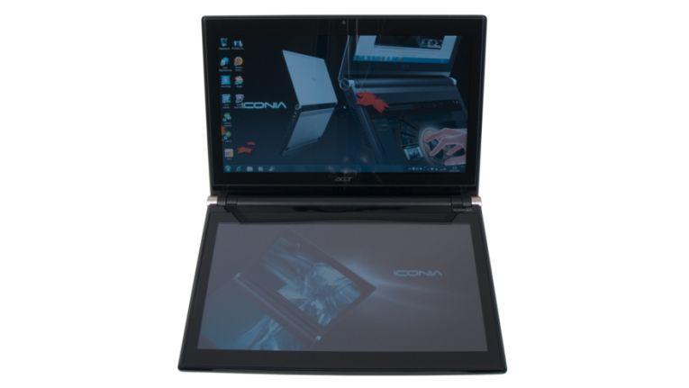 Im Test: Notebook mit Doppel-Display Acer Iconia