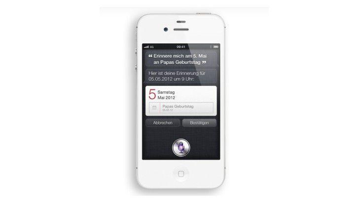 Siri auf dem Apple iPhone 5