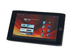 Bereits beim Vorgänger Iconia Tab A100 (Foto) trat Acer kräftig auf die Preisbremse - nun legt der Hersteller aber bei den Features nach.