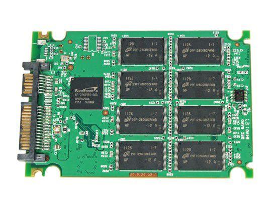 Vorderseite der SSD-Platine der Extrememory XLR8 Express 240GB