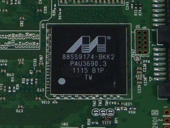Marvell-Controller der Plextor M3 256GB (PX-256M3)