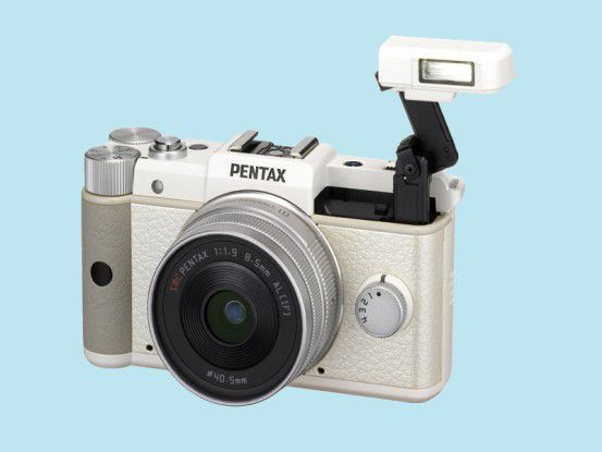 Pentax Q: Die Systemkamera ist die derzeit kompakteste auf dem Markt.
