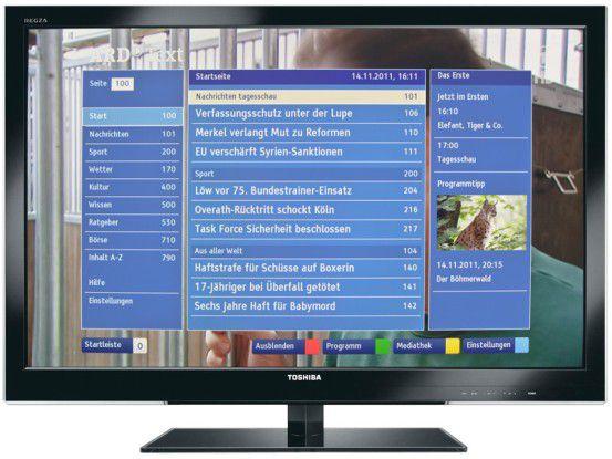 Ab ins Netz - mit mobile TV und interaktivem Fernsehen.