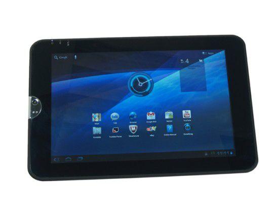 Günstige Tablets wie das Toshiba AT100 bieten oft mehr Anschlüsse als teure Top-Geräte