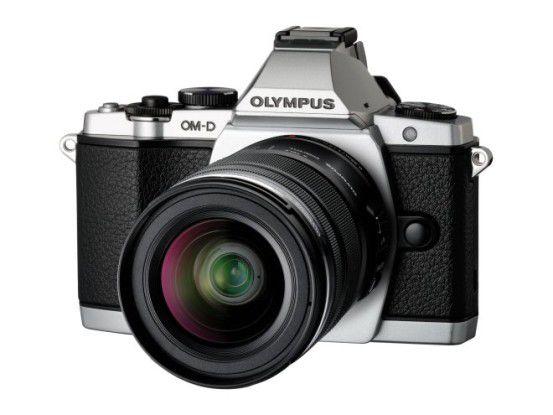 Olympus OM-D mit Motorzoom
