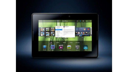 RIM hat BlackBerry 10 für das PlayBook-Tablet angekündigt.