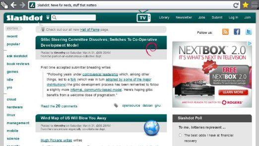 Firefox für Metro (Windows 8)