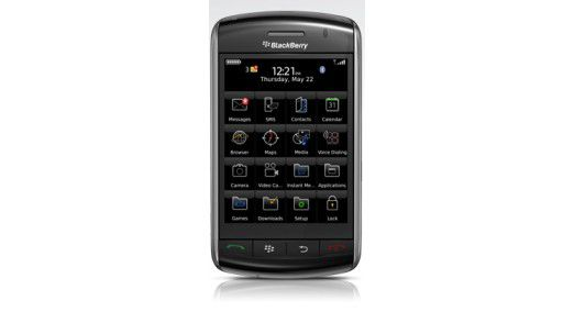 Blackberry Surepress im vermeintlichen iPhone-Killer Blackberry Storm von 2008.