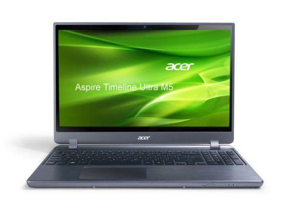 Ultrabook mit Geforce GT640M: Acer Aspire Timeline Ultra M5